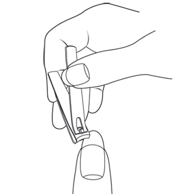 2 To Shorten Your Nails A Considerable Length Use Clipper And Start Cutting On One Side Work Toward The Other Never In Middle