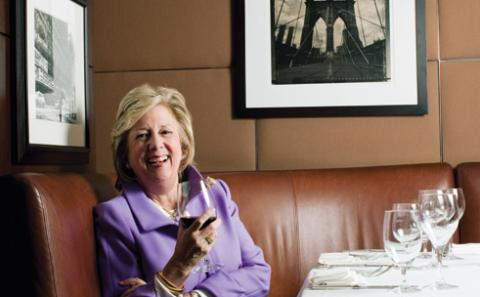 Linda Fairstein at Arektsky's Patroon