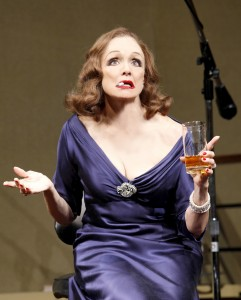 Valerie Harper as Tallulah Bankhead in LOOPED on Broadway